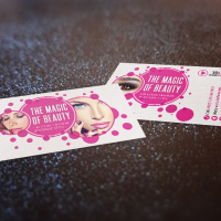 3D Lashes Featured Business Card