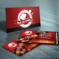 BBQ Featured Card Design